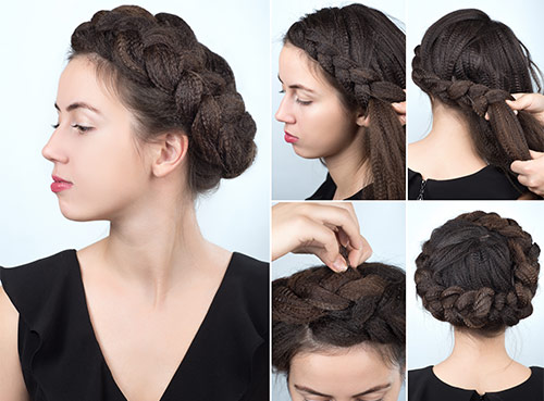 A half braid for the princess in you