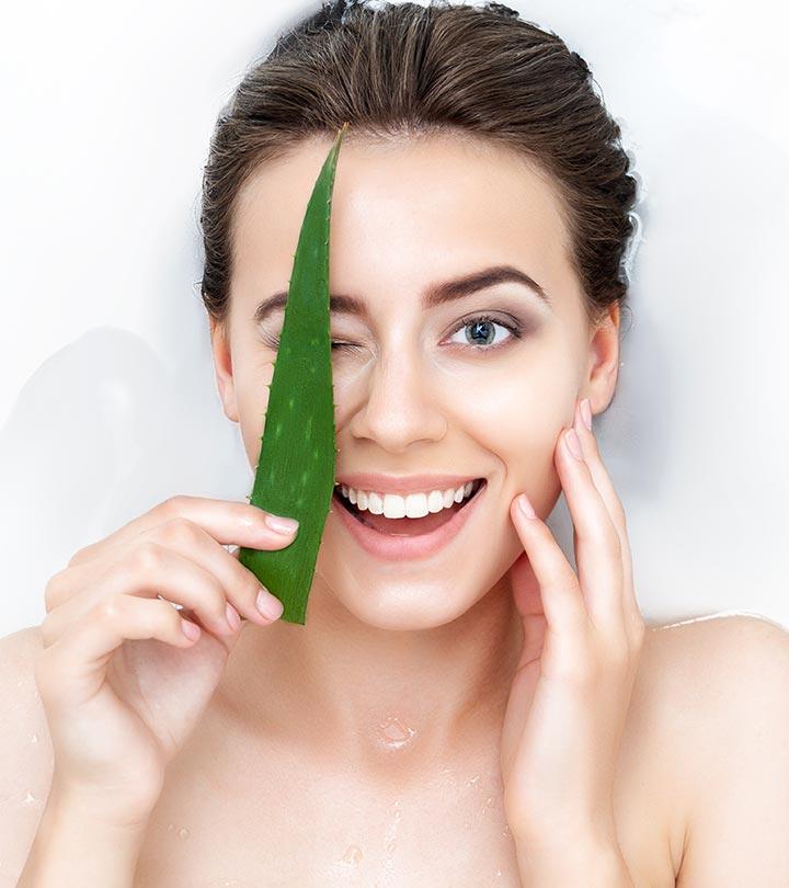 How To Get Fair Skin With Aloe Vera Gel