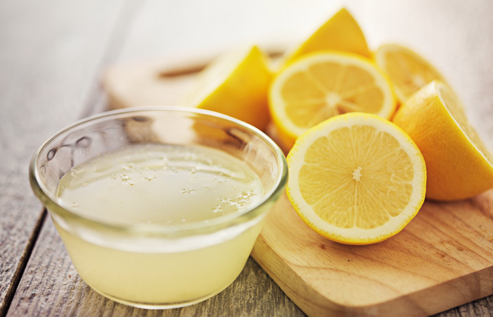 Lemon juice for Dark Circles in Hindi