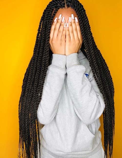 Long Marley Twists