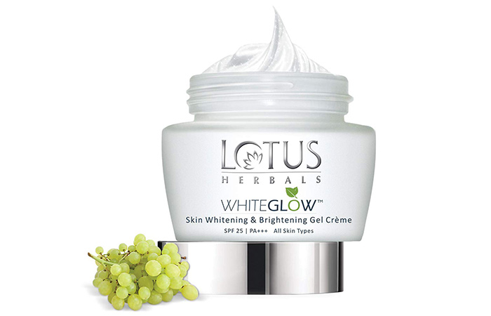 Lotus Herbs Whiteglo Skin Whitening & Brightening Gel Cream