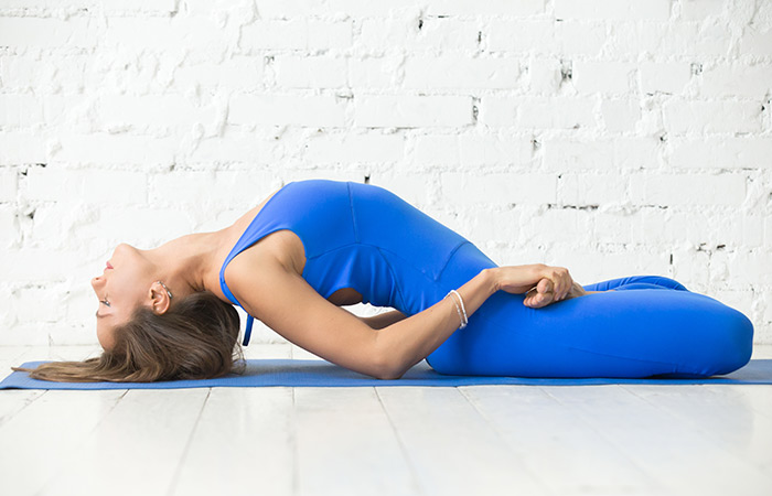 Matsyasana for Weight Gain in Hindi