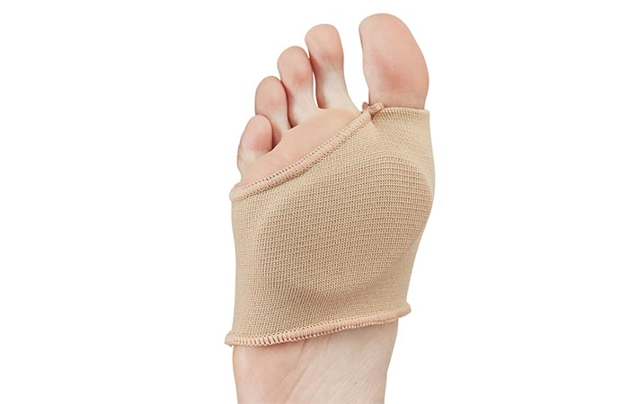 NatraCure Metatarsal Gel Sleeve - Metatarsal Foot Pads