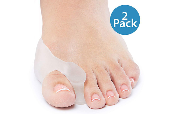 Natracare Gel Big Toe Bunion Guard With Toe Spreader