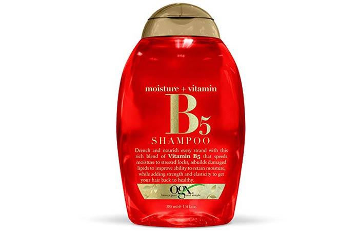 OGX Organics Moisture + Vitamin-B5 Shampoo