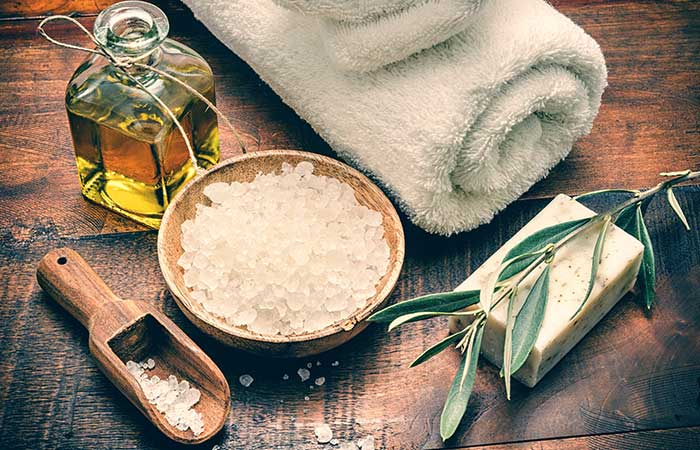 Olive Oil Based Body Scrub