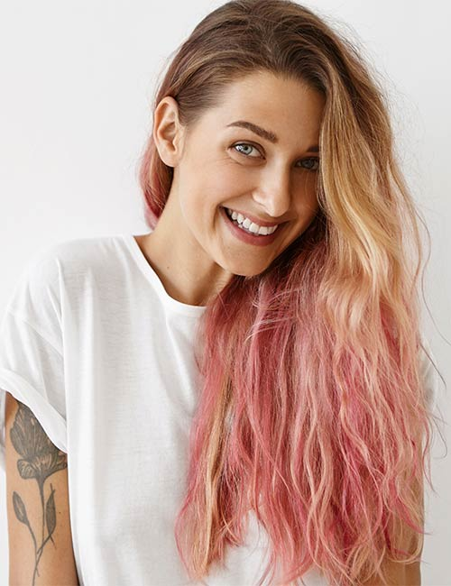 Pink and Blonde