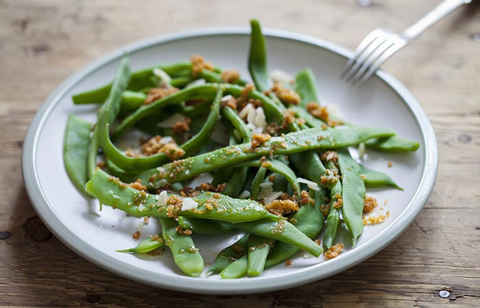 Beans with Parmesan