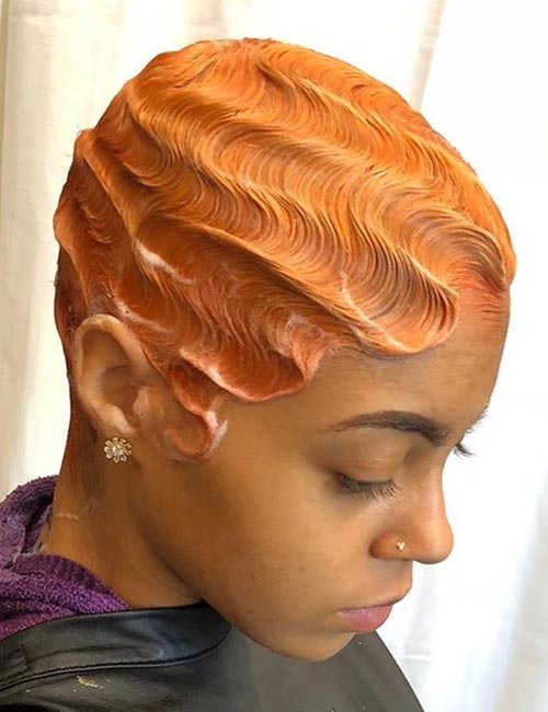 'S' Finger Waves