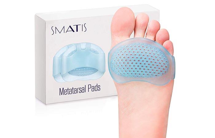 SMATIS Metatarsal Pads - Metatarsal Foot Pads
