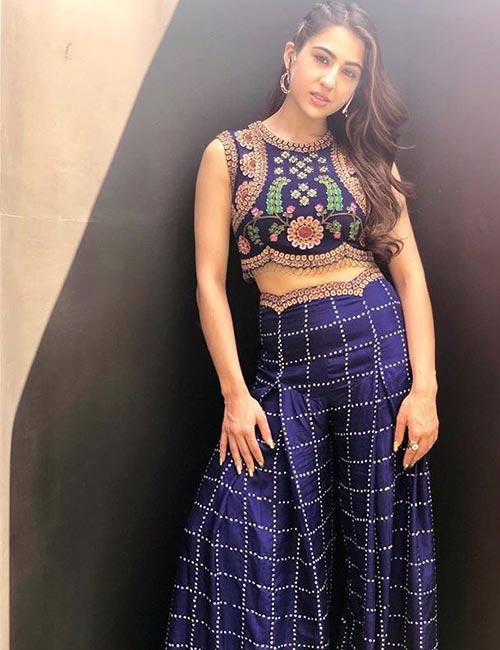 Sara Ali Khan's Blue Mood