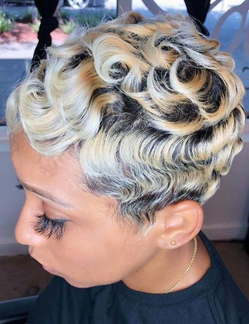 Shadow Root Finger Waves