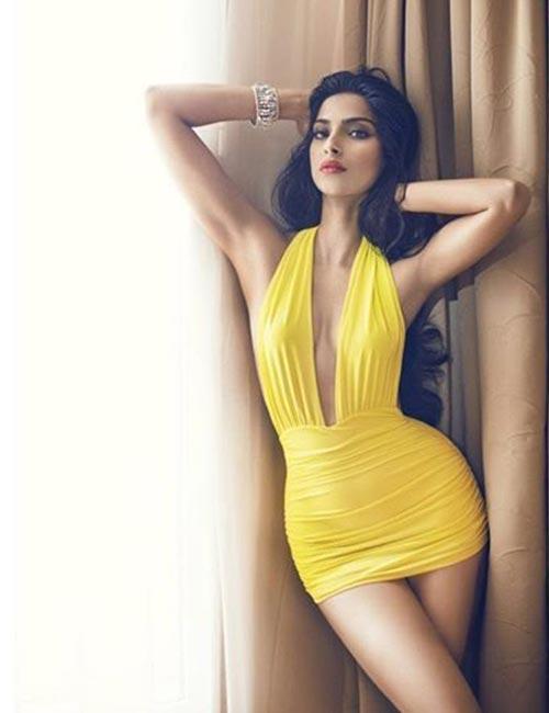 Sonam Kapoor Ahuja's Pinup Swimwear