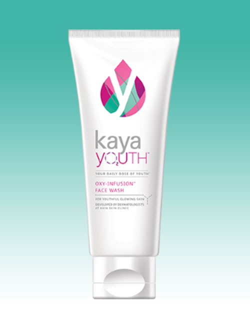 Start the day with Kaya Youth Oxy-Infusion Face Wash