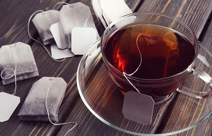 Tea bags or tea water for dark circles in hindi