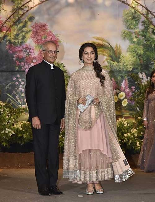 The chirpy actress is married to industrialist Jay Mehta, and co-owns Kolkata Knight Riders with him.