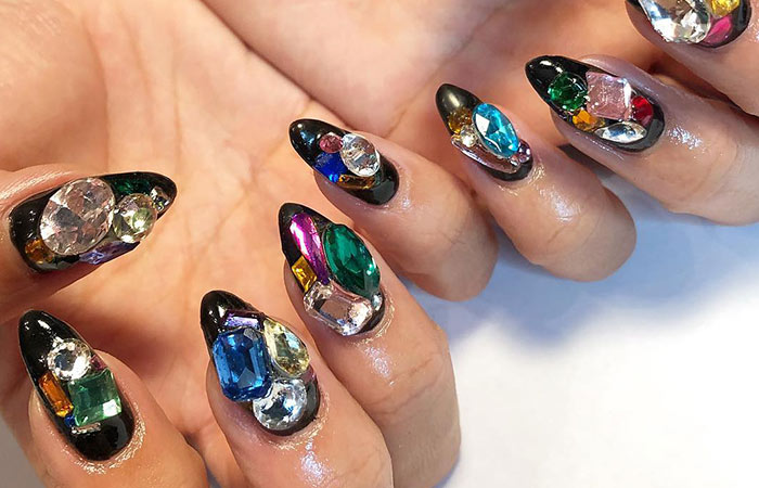 These Nails Which Are Just What A Royalty Like You Needs