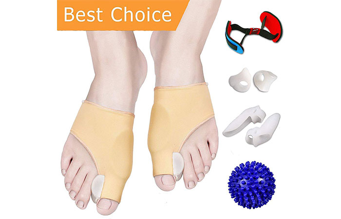 Vesigo Bunion Corrector And Bunion Relief Kit