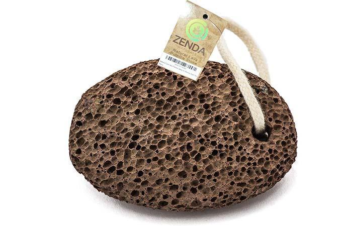Zenda Naturals Natural Earth Lava Pumice Stone - Manual Callus Removers