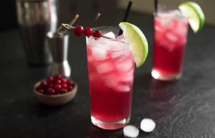 क्रैनबेरी जूस