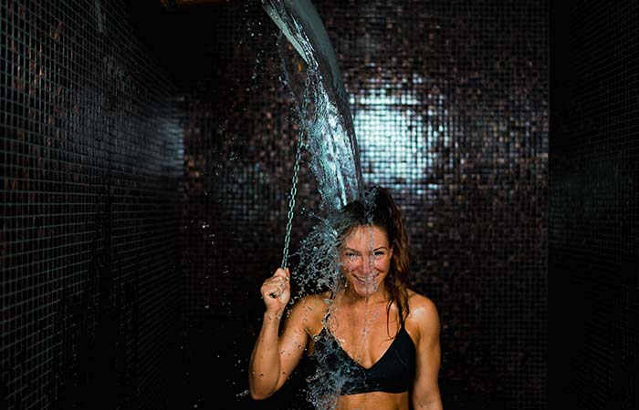 2. Take Cold Showers Routinely