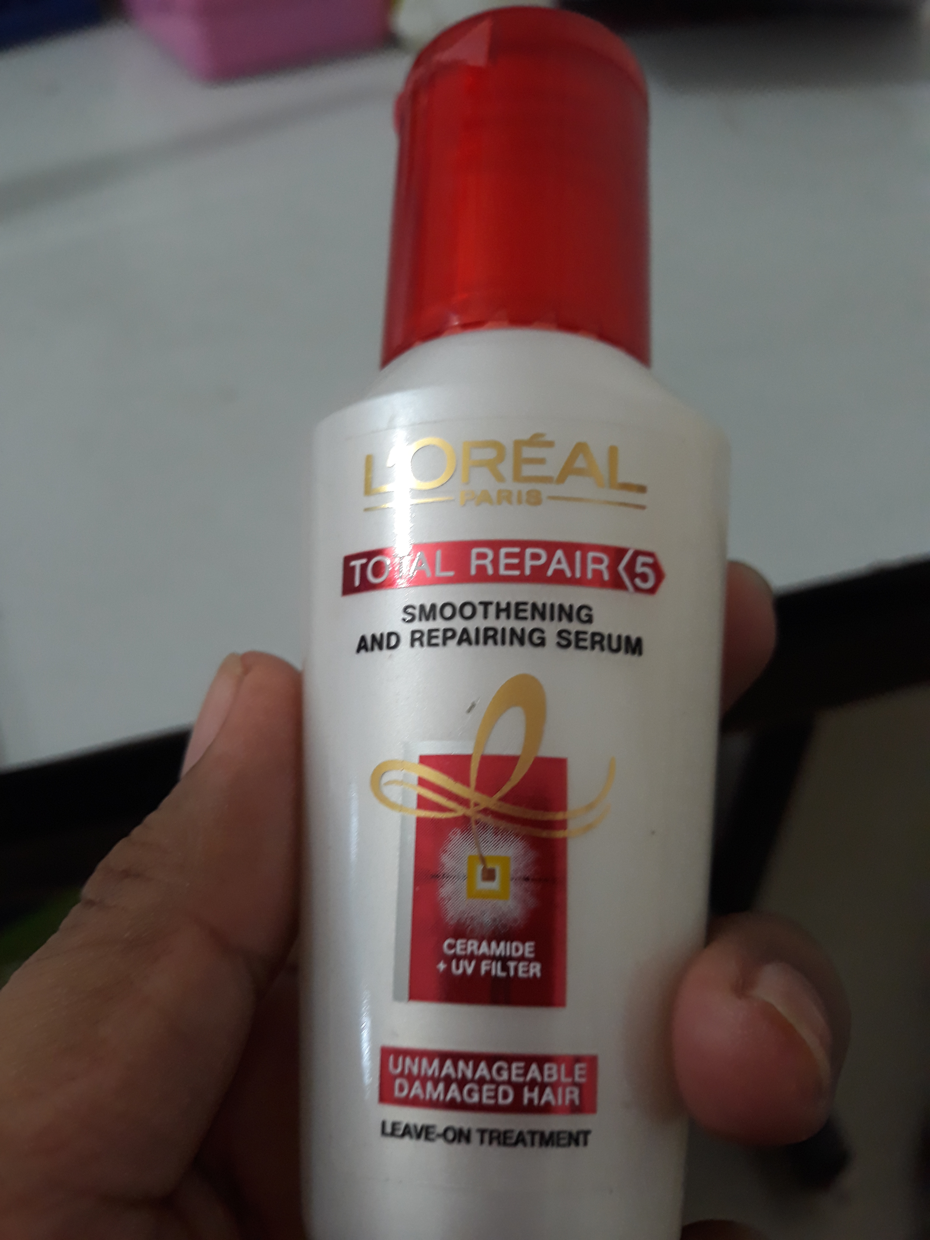 L'Oreal Paris Total Repair 5 Instant Smoothing and Nourishing Oil Serum-Perfect serum for daily use-By Varsha-1