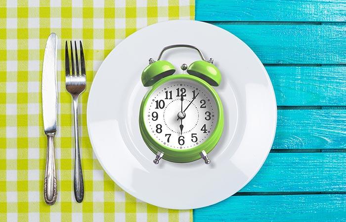 3. Follow Intermittent Fasting