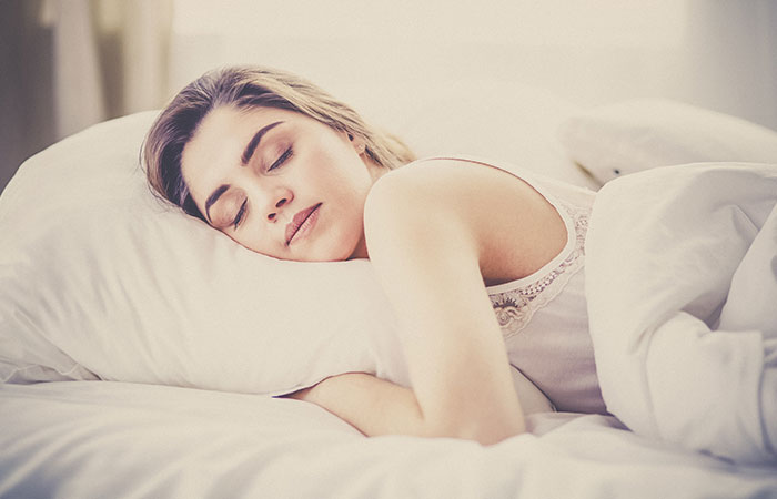 3. Log In A Good Night's Sleep Every Day