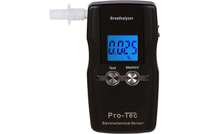 Pro-Tec Electrochemical Breathalyzer - Breathalyzers