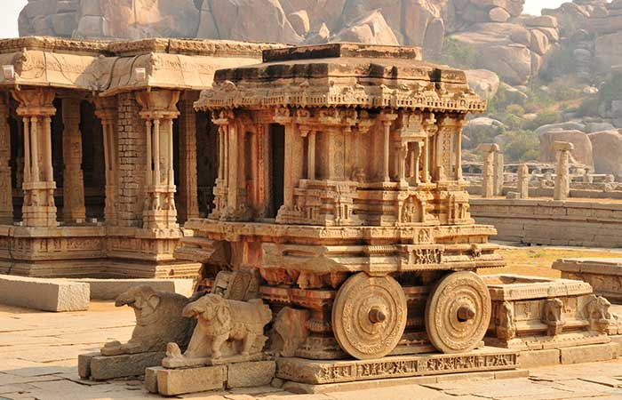 5. Living and Living in the History of the Indian Heritage - The Land of the Ruins, Hampi