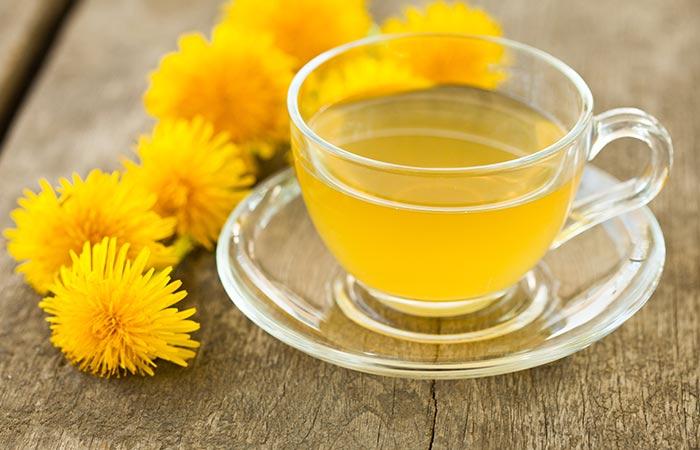 पैरों में सूजन के लिए डैंडिलियन चाय