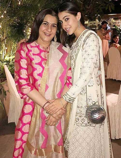 Amratha Singh and Sara Ali Khan