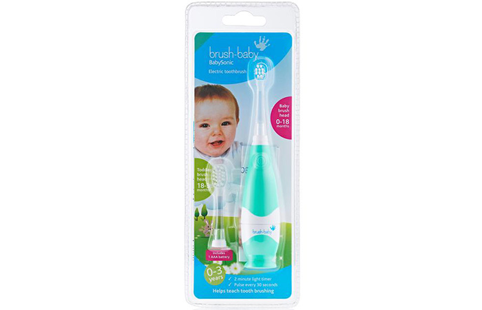 Best For Babies – Brush-Baby BabySonic Electric Toothbrush