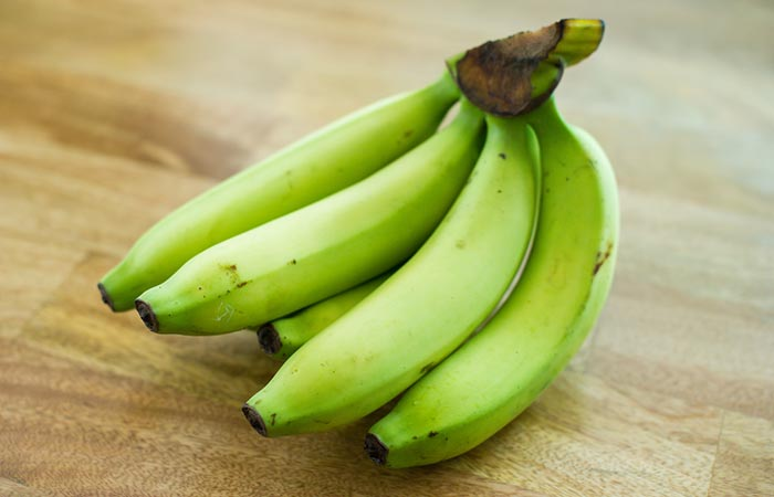 Green or raw banana