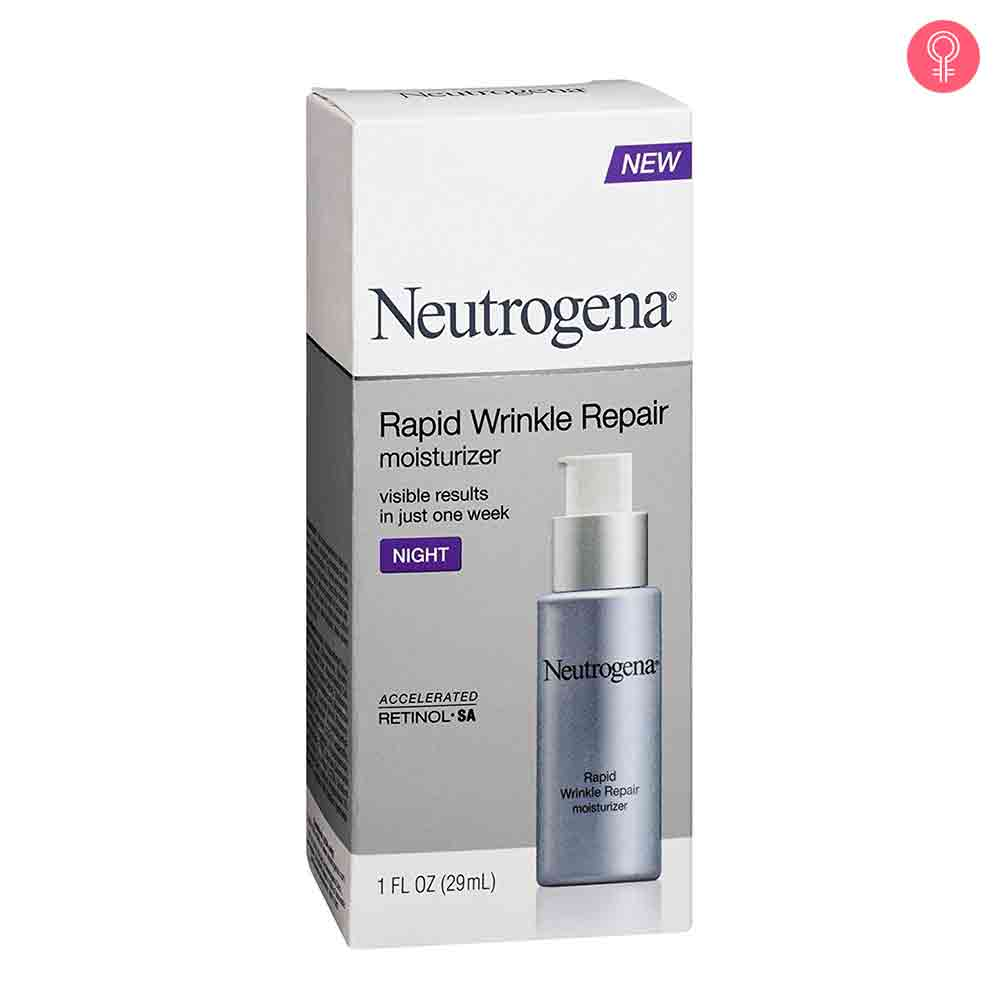 Neutrogena Rapid Wrinkle Repair Night Moisturizer With Retinol