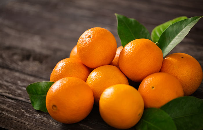 Orange and tangerine for Calcium in Hindi