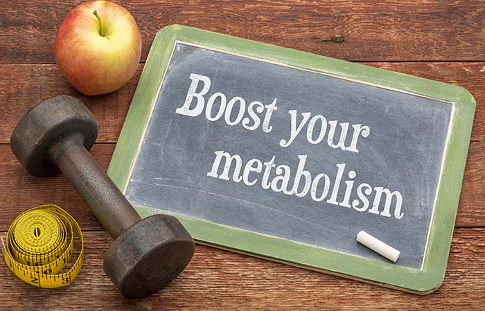 Step One Increase Your Metabolism