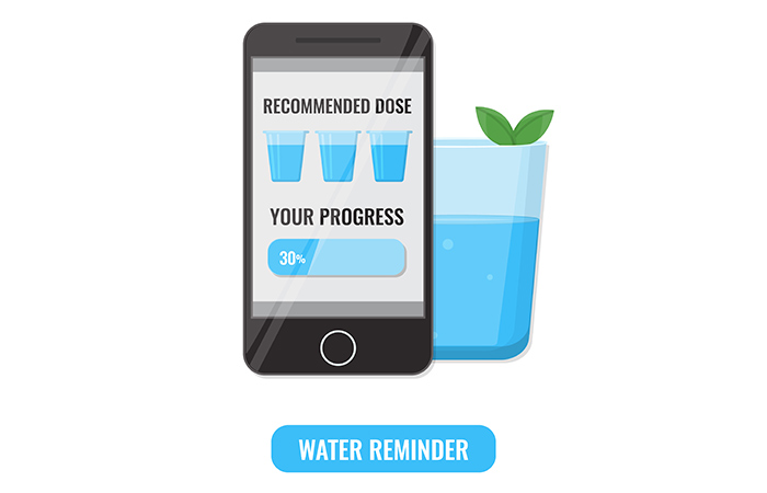 Track Your Water Consumption With An App