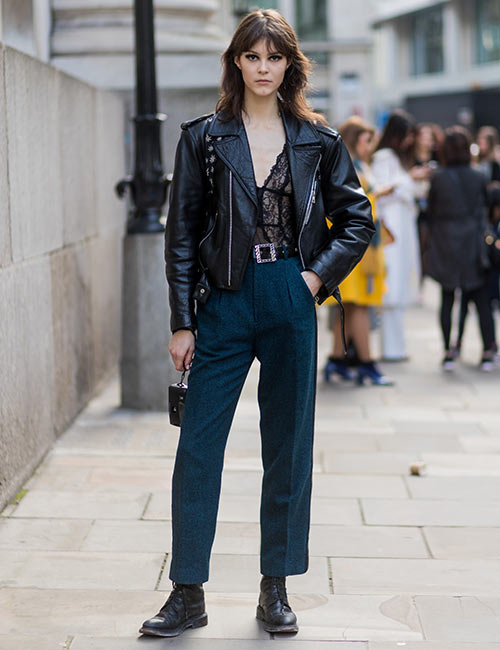 Trousers And Black Boots