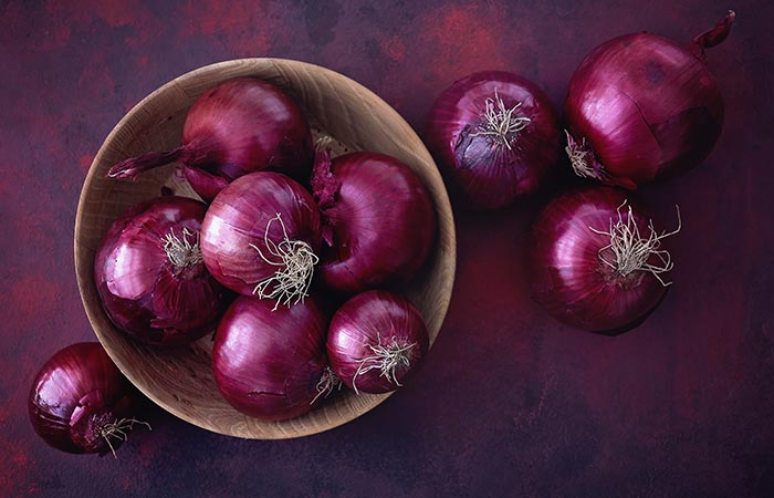 Types of Onion in Hindi
