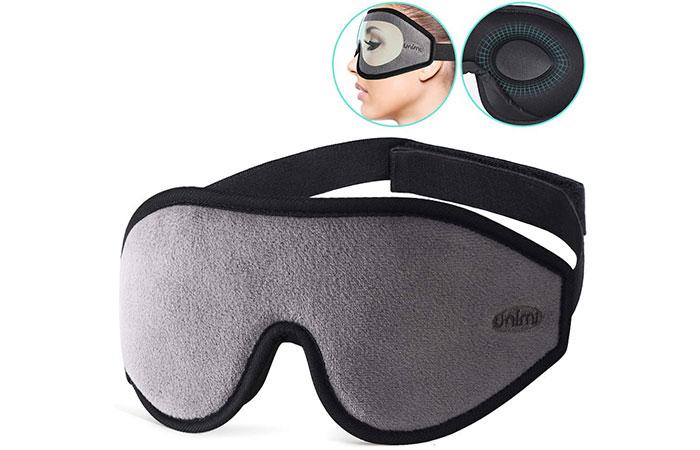 Unimi 3D Contoured Sleep Mask