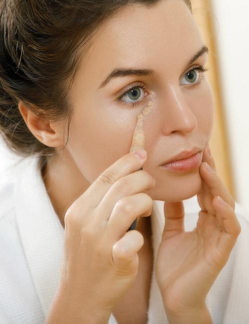 Use A Brightening Under- Eye Concealer