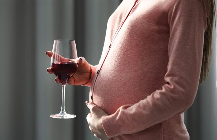 alcohol in pregnancy in hindi
