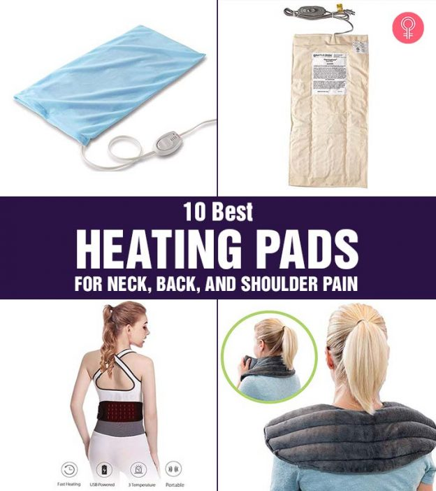 10 Best Heating Pads For Neck Back