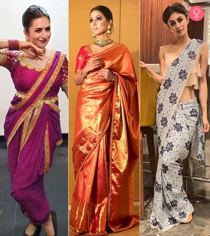 10 TV Actresses To Follow For Saree Fashion Inspiration