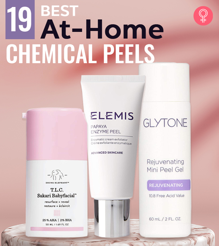 19 Best At-Home Chemical Peels To Try