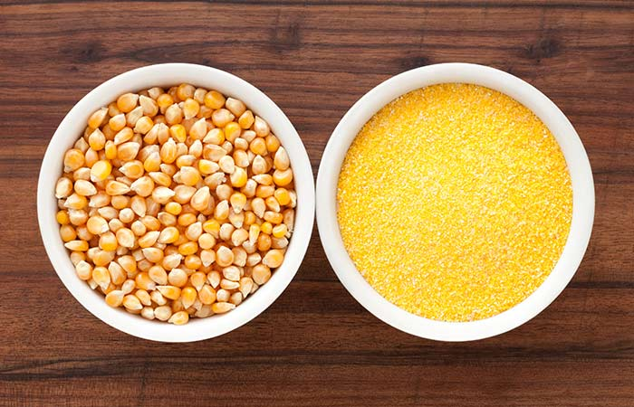 2. Corn Flour And Egg White