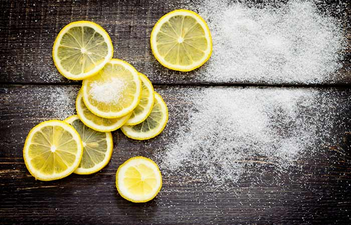4. Sugar And Lemon Juice