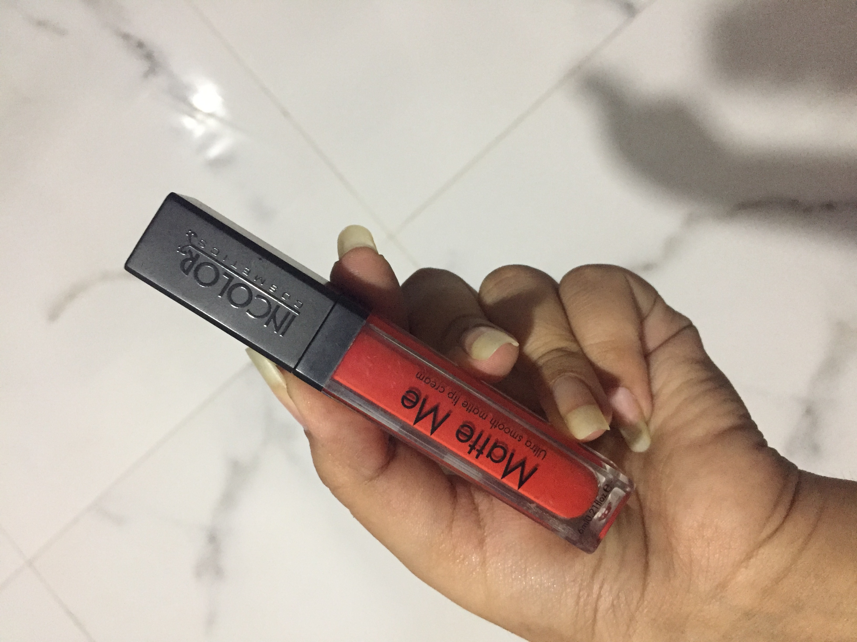 Incolor Matte Me Ultra Smooth Lip Cream-Affordable liquid lipstick-By @bhavikaaramani