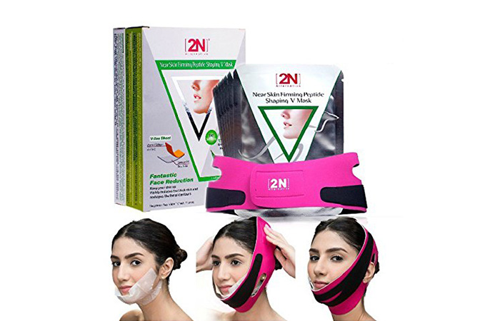 8. 2N mask for peptide skin tightening